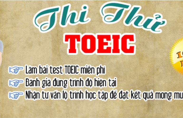 AMA tổ chức thi thử TOEIC miễn phí cho thí sinh tự do và sinh viên trường Đại học Quảng Nam