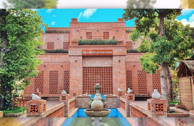 'Xuyên không' về một thời hoàng kim tại thành cổ Quảng Ngãi